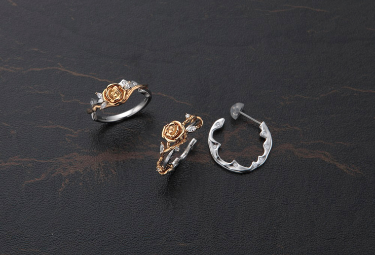 rose ring&pierce